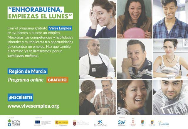 El SEF y Acción contra el Hambre ayudarán a 125 personas desempleadas a encontrar trabajo este semestre - 1, Foto 1