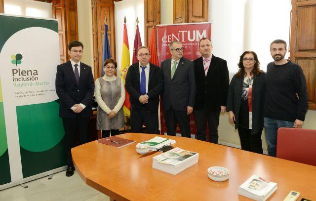 Premian a la Universidad de Murcia por su apuesta por la integración de personas con discapacidad intelectual - 1, Foto 1