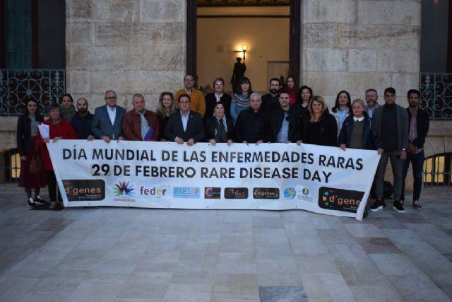 Adhesión al manifiesto por le Día Mundial de las Enfermedades Raras - Ayuntamiento de Mazarrón - 1, Foto 1