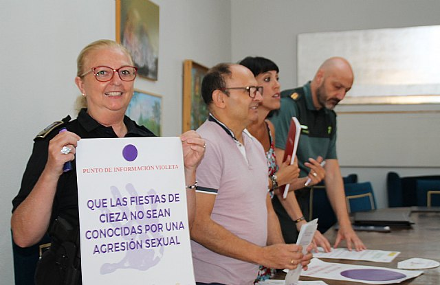 Punto violeta en la v edición del Flor Cieza Festival - 1, Foto 1