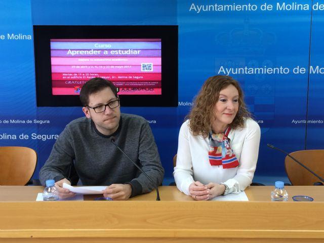 La Concejalía de Juventud de Molina de Segura organiza un curso gratuito sobre técnicas de estudio - 1, Foto 1