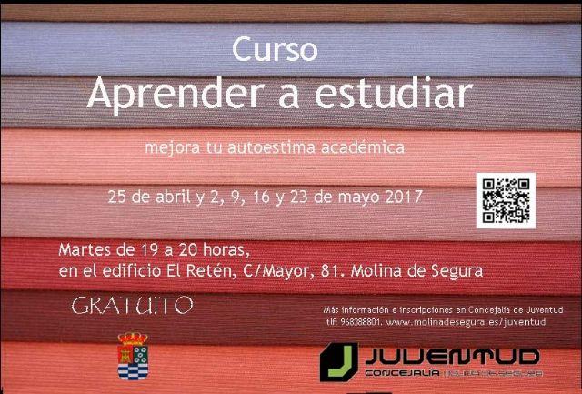 La Concejalía de Juventud de Molina de Segura organiza un curso gratuito sobre técnicas de estudio - 3, Foto 3