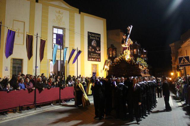 Las imágenes titulares de la Cofradía Nuestro Padre Jesús Nazareno desfilaron en la noche de Miércoles Santo - 2, Foto 2