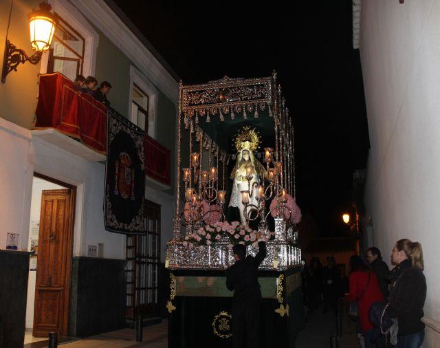 Las imágenes titulares de la Cofradía Nuestro Padre Jesús Nazareno desfilaron en la noche de Miércoles Santo - 3, Foto 3