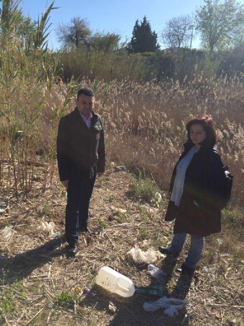 El PSOE exige limpieza y seguridad en toda la mota del Segura y recuerda que el proyecto Río no es sólo iluminarlo a su paso por la ciudad - 1, Foto 1
