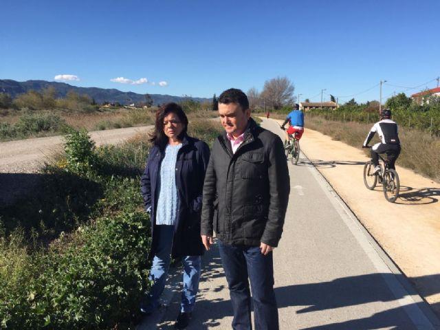 El PSOE exige limpieza y seguridad en toda la mota del Segura y recuerda que el proyecto Río no es sólo iluminarlo a su paso por la ciudad - 2, Foto 2
