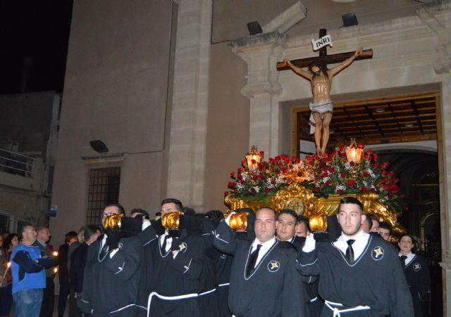 La cofradía del Santísimo Cristo Crucificado llena de solemnidad y recogimiento el Miércoles Santo torreño - 1, Foto 1