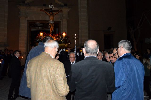 La cofradía del Santísimo Cristo Crucificado llena de solemnidad y recogimiento el Miércoles Santo torreño - 2, Foto 2