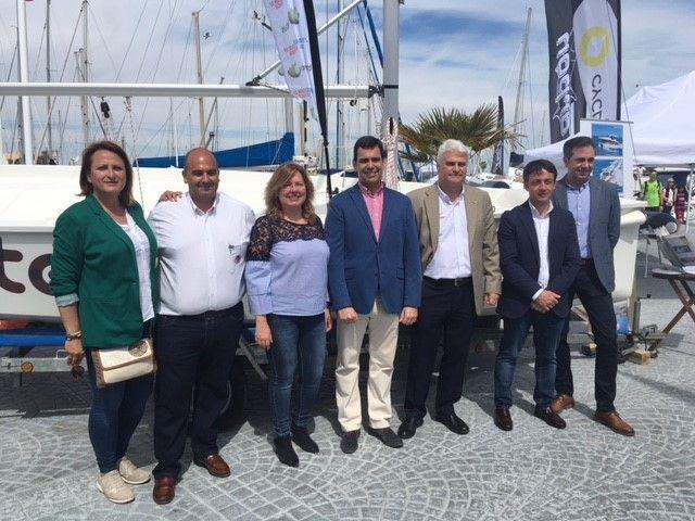 La Comunidad participa en la inauguración de la Feria Náutica Marina de las Salinas - 1, Foto 1