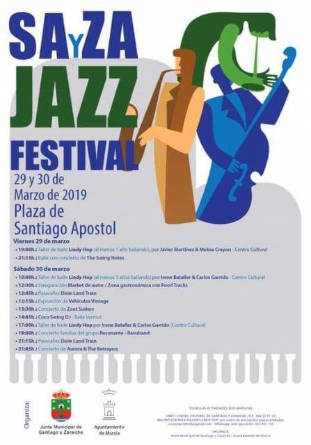 El festival SAyZA de Santiago y Zaraíche arranca hoy viernes con un taller de baile y un concierto de swing - 1, Foto 1