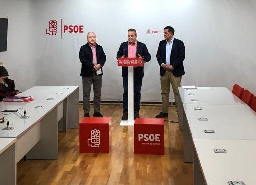 Los líderes regionales de UGT y CCOO instan al candidato socialista al Ayuntamiento de Murcia a que priorice el empleo y las políticas sociales en su programa - 1, Foto 1