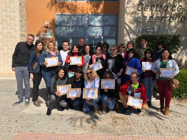 Dieciocho personas han participado en el Curso de Formación para la Atención a Personas Dependientes