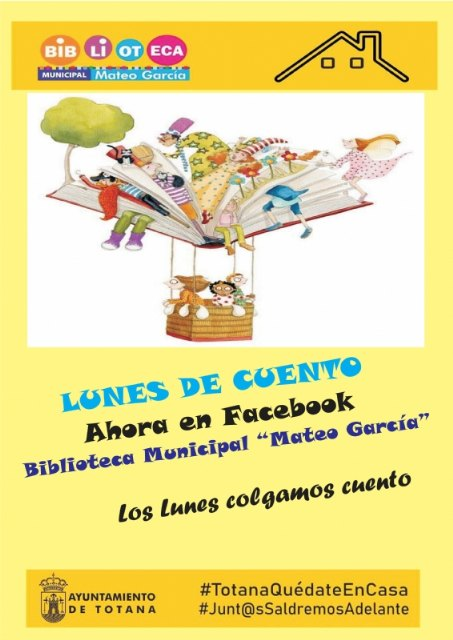 "The Municipal Library ""Mateo García"" resumes, starting tomorrow, the free activity of the Storytelling Workshop"