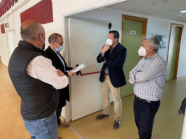 El pabellón polideportivo municipal será una de las sedes para la vacunación masiva contra la Covid-19 - 1, Foto 1