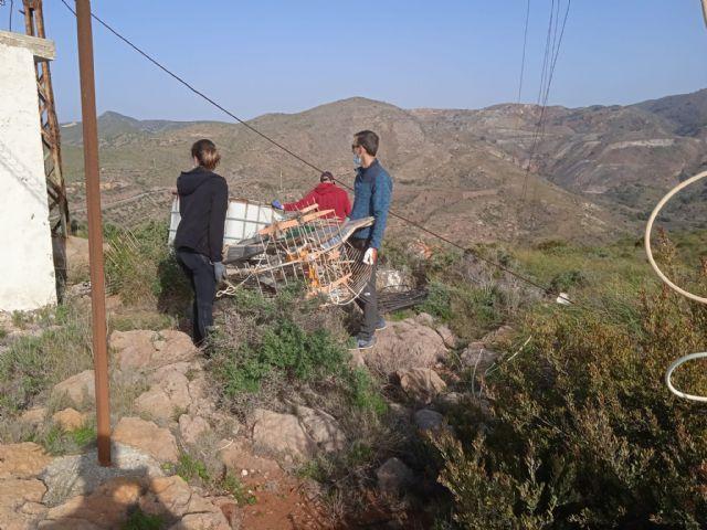 ARBA Cartagena-La Unión realiza una macrolimpieza de escombros y residuos en Portmán - 5, Foto 5