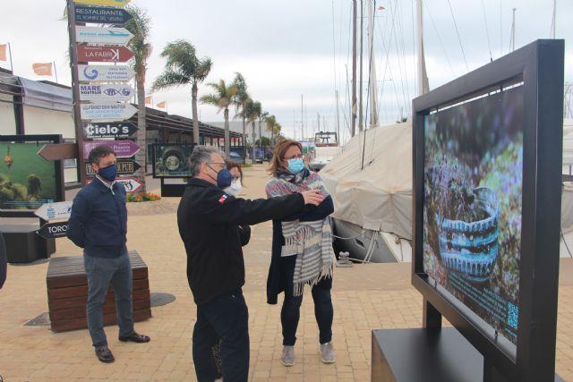 Ecodenuncia muestra en el puerto Marina de Las Salinas los efectos de la basura en los fondos marinos - 2, Foto 2