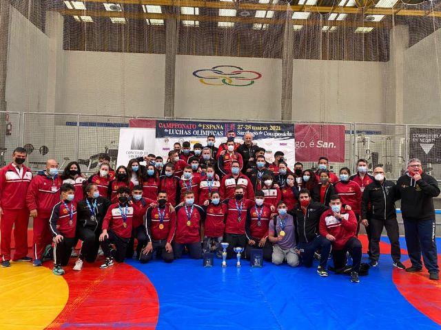 La Selección Murciana de Luchas Olímpicas ha disputando este fin de semana el Campeonato de España - 1, Foto 1