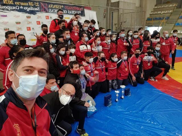 La Selección Murciana de Luchas Olímpicas ha disputando este fin de semana el Campeonato de España - 2, Foto 2