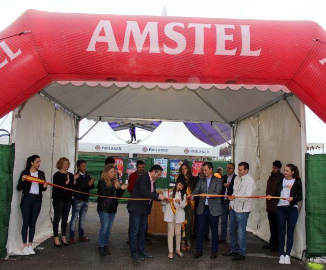 Comenzó en la tarde de ayer en Alcantarilla el primer BRUJOFEST hasta el lunes próximo 1 de mayo, doce conciertos, feria de la cerveza, seis caravanas de food truck y la final del concurso Bruja Pop - 1, Foto 1