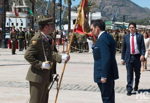 MC defenderá en el Pleno la concesión de la Medalla de Oro de Cartagena al Regimiento de Artillería Antiaérea n° 73 - 1, Foto 1