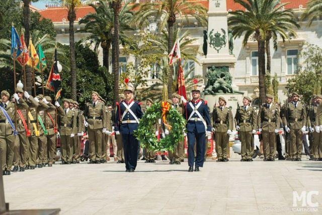 MC defenderá en el Pleno la concesión de la Medalla de Oro de Cartagena al Regimiento de Artillería Antiaérea n° 73 - 2, Foto 2
