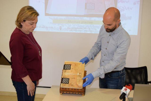 El libro de actas del ayuntamiento de 1631 a 1637 luce completamentamente restaurado - 4, Foto 4