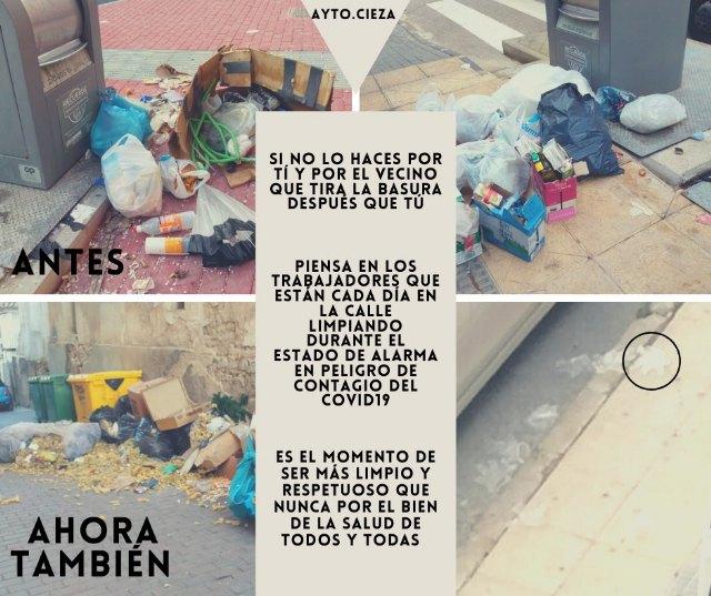 El Ayuntamiento insiste en rogar a los ciudadanos responsabilidad y civismo a la hora de sacar la basura - 1, Foto 1