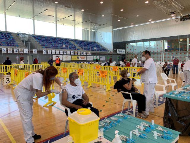 Exitosa jornada de vacunación en el Pabellón Diego Calvo Valera - 1, Foto 1