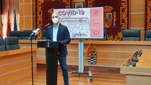 El Alcalde de Molina de Segura reclama vacunaciones masivas frente al COVID-19 en la ciudad y acusa al gobierno regional de tratar a los vecinos y a las vecinas del municipio con discriminación - 1, Foto 1