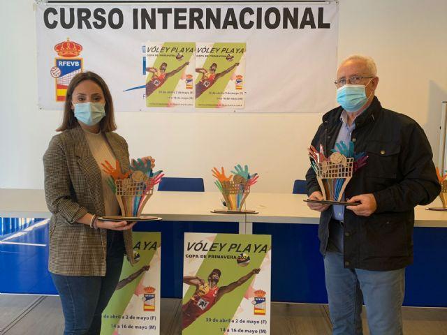 Lorca acogerá la Copa de Primavera de Vóley Playa, este fin de semana, en categoría femenina - 1, Foto 1