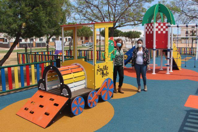 San Pedro del Pinatar abre un nuevo parque infantil dedicado a la Pandilla de Drilo - 1, Foto 1