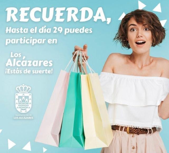 La campaña Estás de Suerte genera más de 4.000 compras entre los comercios de Los Alcázares - 1, Foto 1