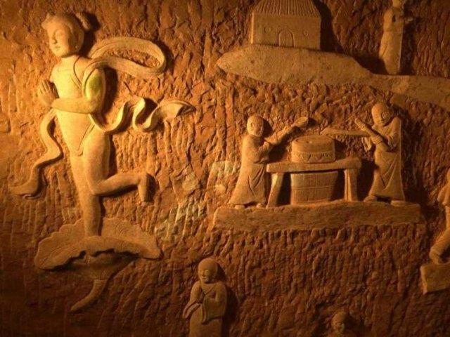 Las cuevas de Longyou y Huashan - 2, Foto 2