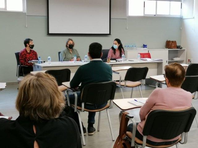 Entidades del tercer sector explican su labor durante la pandemia a la directora general de Servicios Sociales, Foto 2