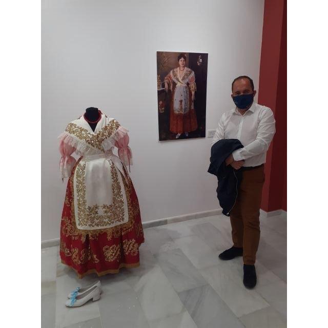 La Federación de Peñas Huertanas y la exposición Creación de un Icono - 1, Foto 1