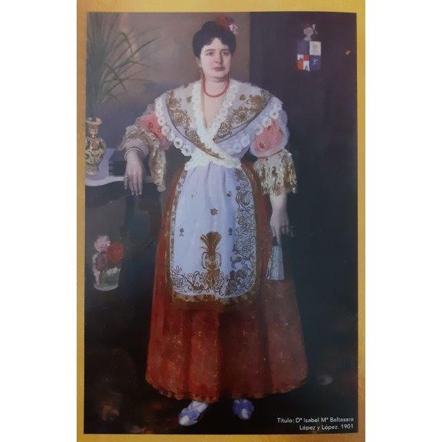 Doña Isabel María Baltasara López y López, hija y benefactora de Villanueva del Río Segura, en la exposición murciana: Creación de un Icono - 1, Foto 1