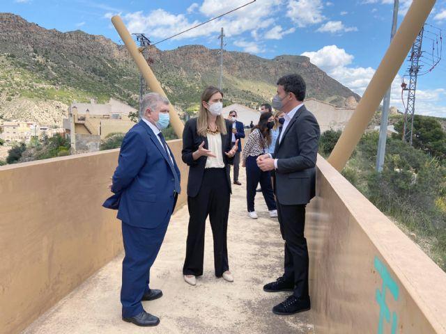 Sara Aagesen, Secretaria de Estado de Energía, visita Blanca - 2, Foto 2
