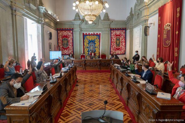 El Ayuntamiento aprueba una iniciativa para que SEPES acepte la oferta de la Autoridad Portuaria e inicie la ZAL de Los Camachos - 1, Foto 1