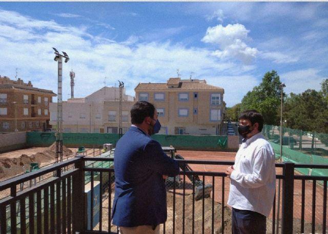 El Ayuntamiento de Los Alcázares mejora el Club de Tenis - 1, Foto 1