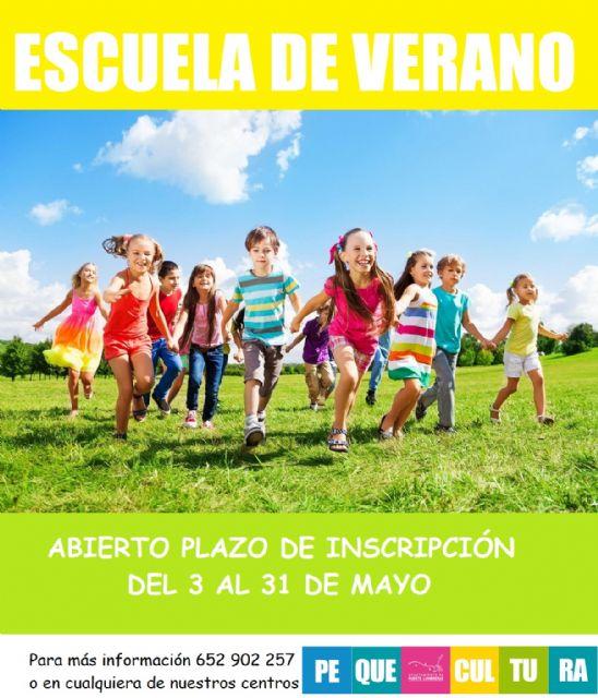 La Escuela de Verano de la red municipal de guarderías de Puerto Lumbreras abre el próximo lunes 3 de mayo el plazo de inscripción - 1, Foto 1