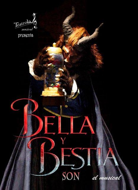 Teatrola Musical presenta el espectáculo infantil BELLA Y BESTIA SON en el Teatro Villa de Molina el domingo 2 de mayo - 1, Foto 1