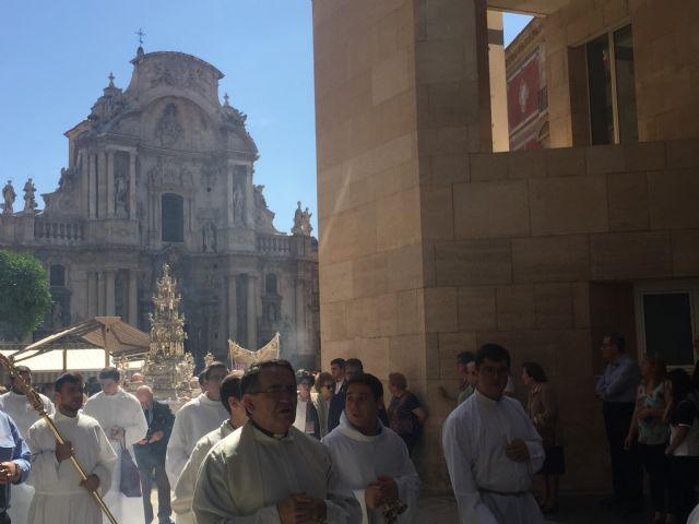 El Corpus Christi bendice las calles de Murcia - 3, Foto 3