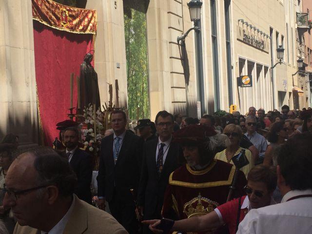 El Corpus Christi bendice las calles de Murcia - 5, Foto 5