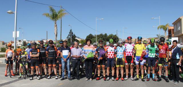 Disputada la cuarta etapa de la V Vuelta Ciclista Ruta de Cadetes a la Región de Murcia en Puerto Lumbreras - 1, Foto 1