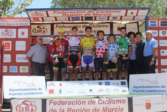 Disputada la cuarta etapa de la V Vuelta Ciclista Ruta de Cadetes a la Región de Murcia en Puerto Lumbreras - 3, Foto 3