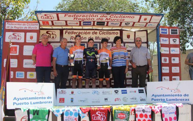Disputada la cuarta etapa de la V Vuelta Ciclista Ruta de Cadetes a la Región de Murcia en Puerto Lumbreras - 4, Foto 4
