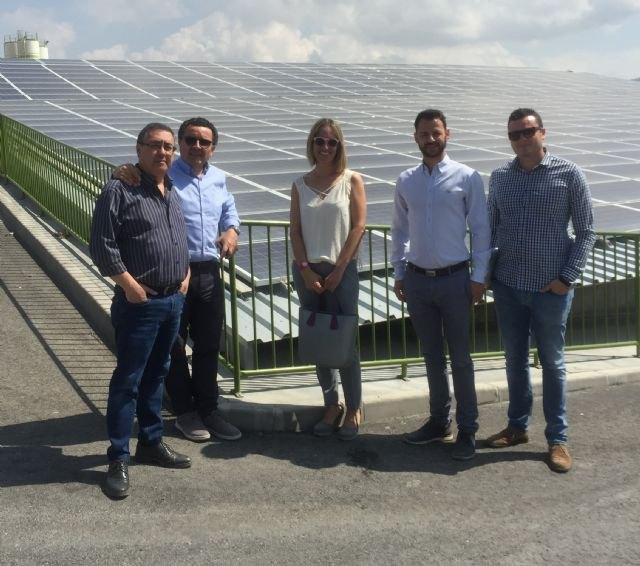 Una instalación fotovoltaica financiada por la Comunidad en una empresa de Lorca evita la emisión de 63 toneladas de CO2 al año - 1, Foto 1