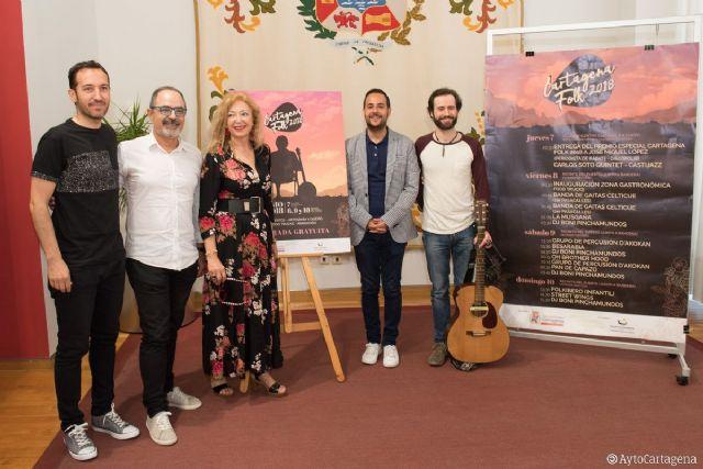 El Cartagena Folk entregará su Premio Especial al periodista de Radio 3 José Miguel López - 1, Foto 1