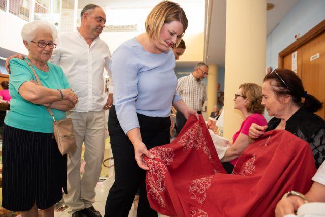 Exposición de talleres para cerrar el mayo cultural del centro de personas mayores de puerto de Mazarrón - 1, Foto 1
