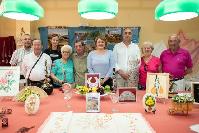 Exposición de talleres para cerrar el mayo cultural del centro de personas mayores de puerto de Mazarrón - 2, Foto 2